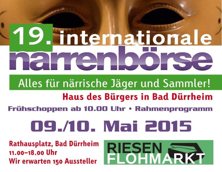 Plakat Narrenörse 2015