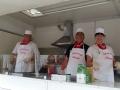 die Küchen-Crew aus Kiebingen ist gerüstet
